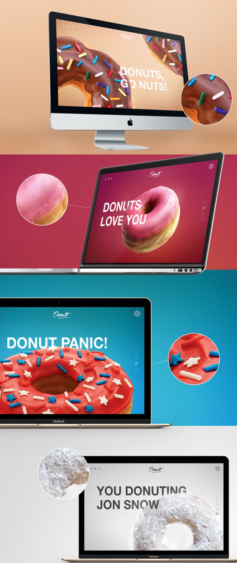 Donuts Webdesign