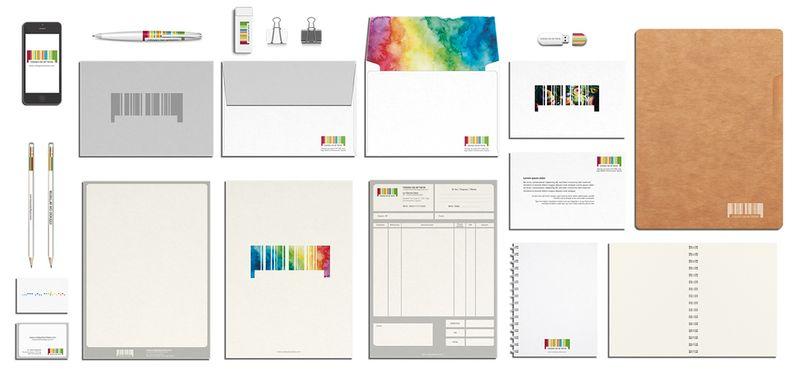 CÓDIGO DE ARTISTA, corporate stationery ( part II )