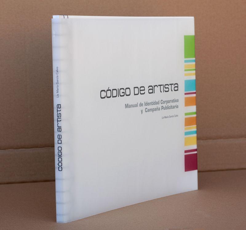 CÓDIGO DE ARTISTA, book memory ( PART IV )