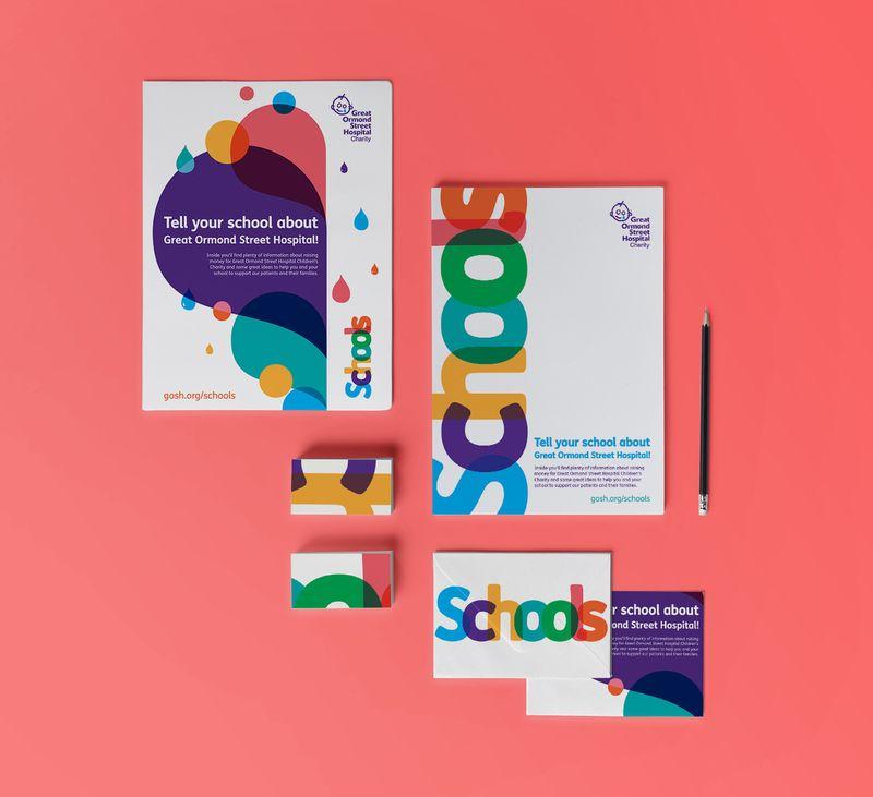 Schools branding and creative