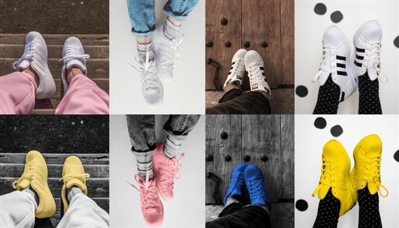 ADIDAS SUPERCOLOR SHOE LAUNCH ON INSTAGRAM