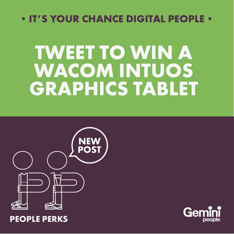 WIN A WACOM PEN + TOUCH SMALL GRAPHICS TABLET