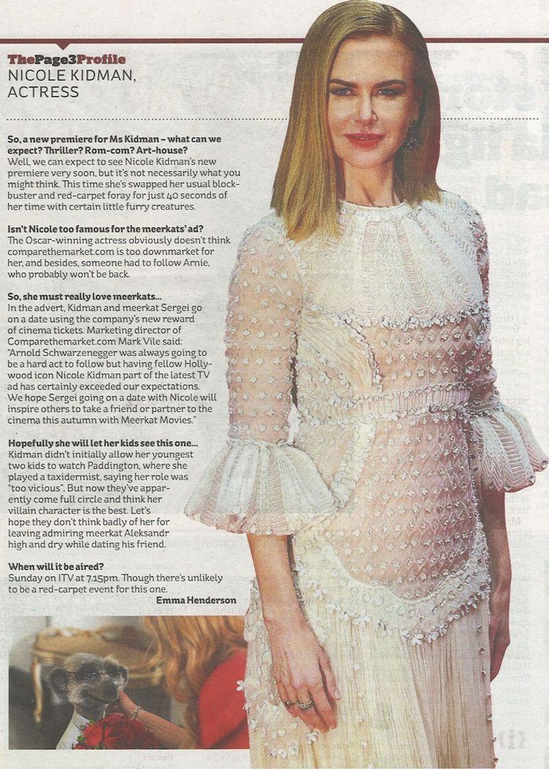 Nicole Kidman Hot Date