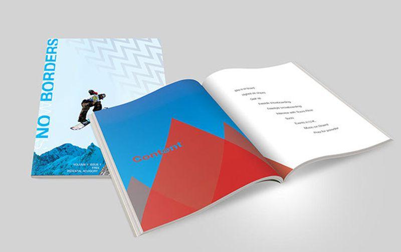 Magazine Design - SnowBorders