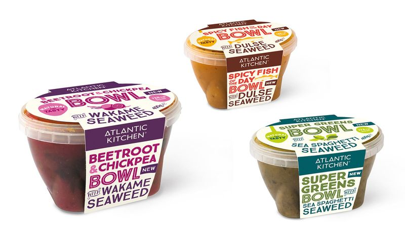 Atlantic Kitchen Soup Packaging