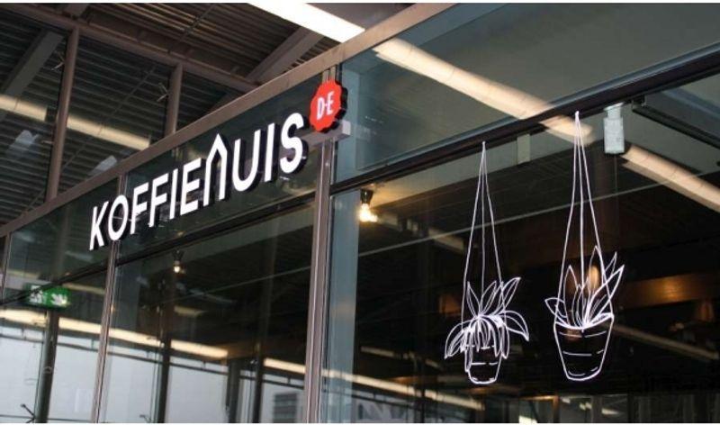 Douwe Egberts // Koffiehuis // Utrecht Centraal