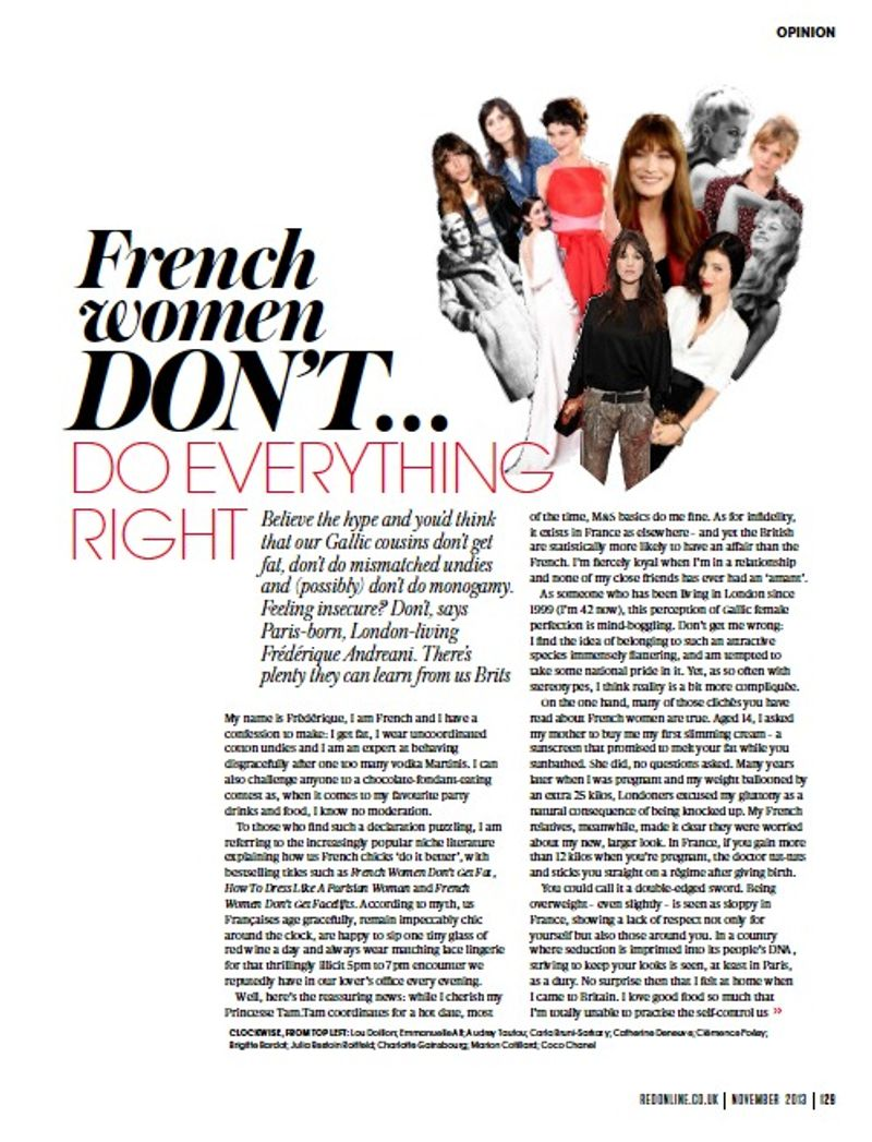 Feature in RED Magazine