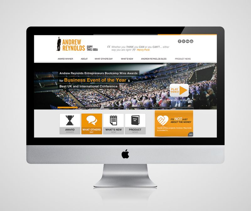 Web Design - Andrew-Reynolds.com