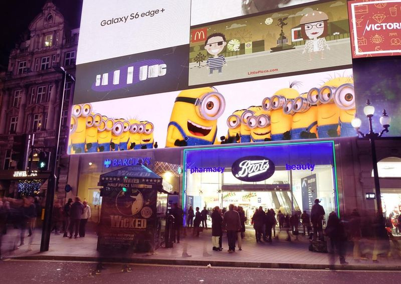 Minions at One Piccadilly