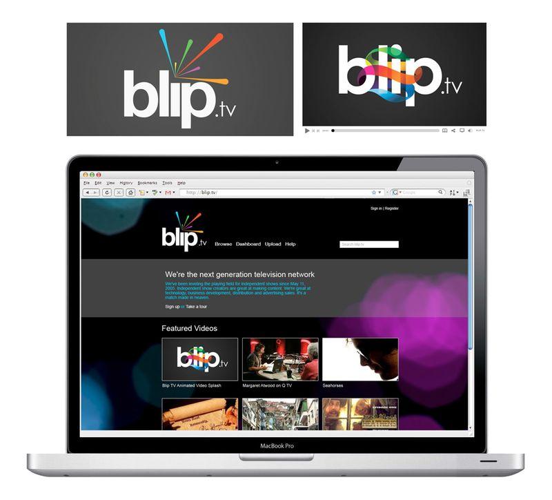 Blip.tv rebrand proposal
