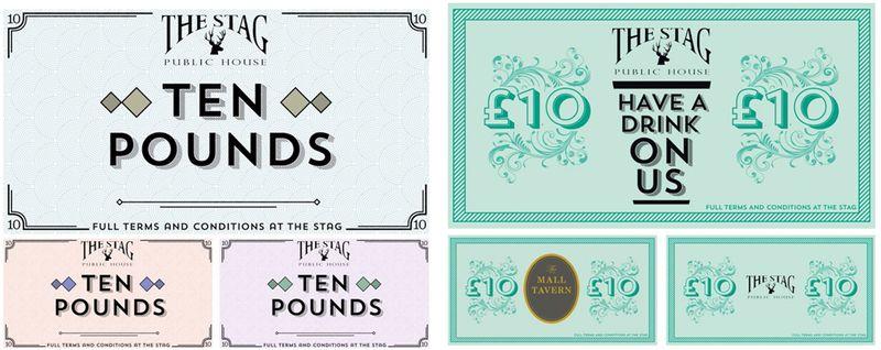 London Pubs Company Vouchers