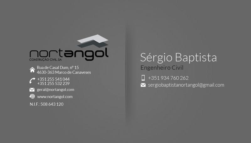 Website Nortangol M.P. Construção Civil, S.A.