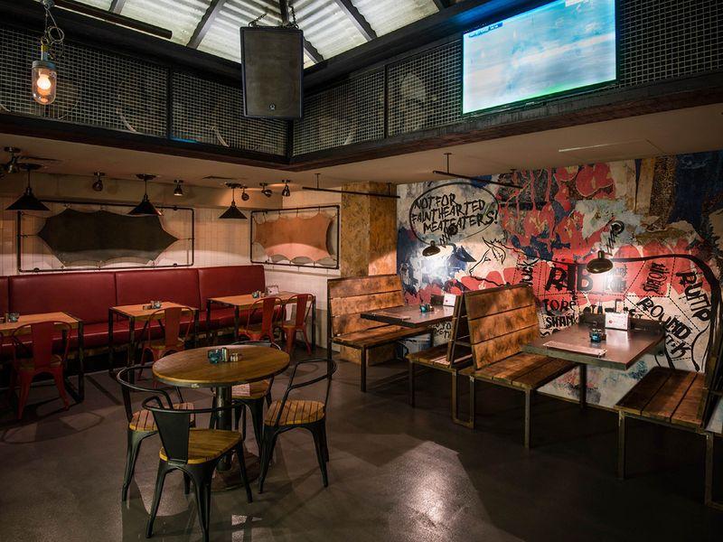 Wall Illustration - Soho Bar & Grill