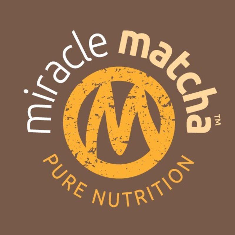 Miracle Matcha packaging & branding
