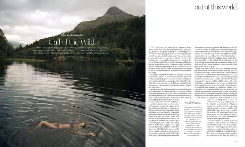 Porter Magazine - Wild Swimming