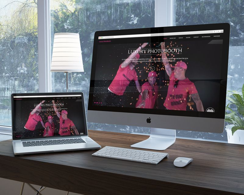 Luxury Photobooth Romania - Branding, Website Design and Development