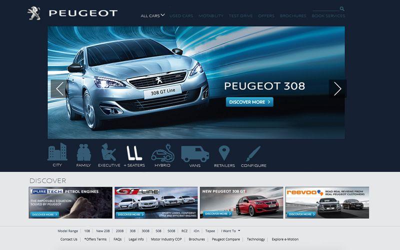 PEUGEOT.CO.UK UX STUDY