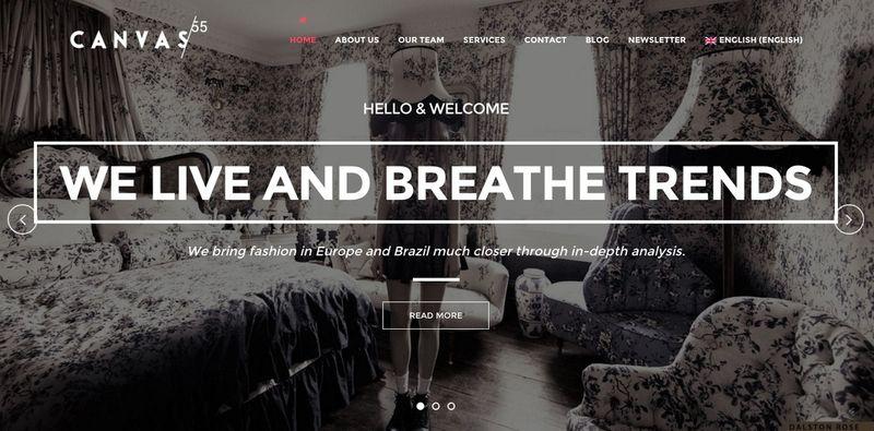 Canvas55 website