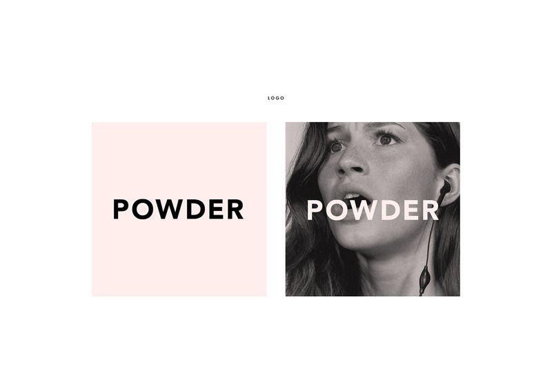 Powder Brand Identity design