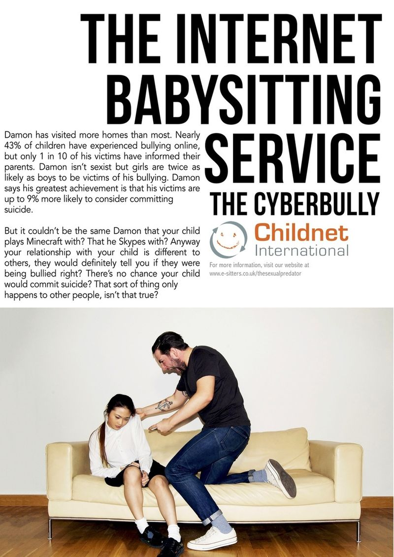 The Internet baby-sitting service - Long copy