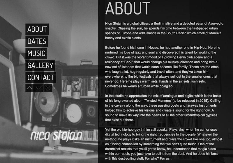Nico Stojan Biography