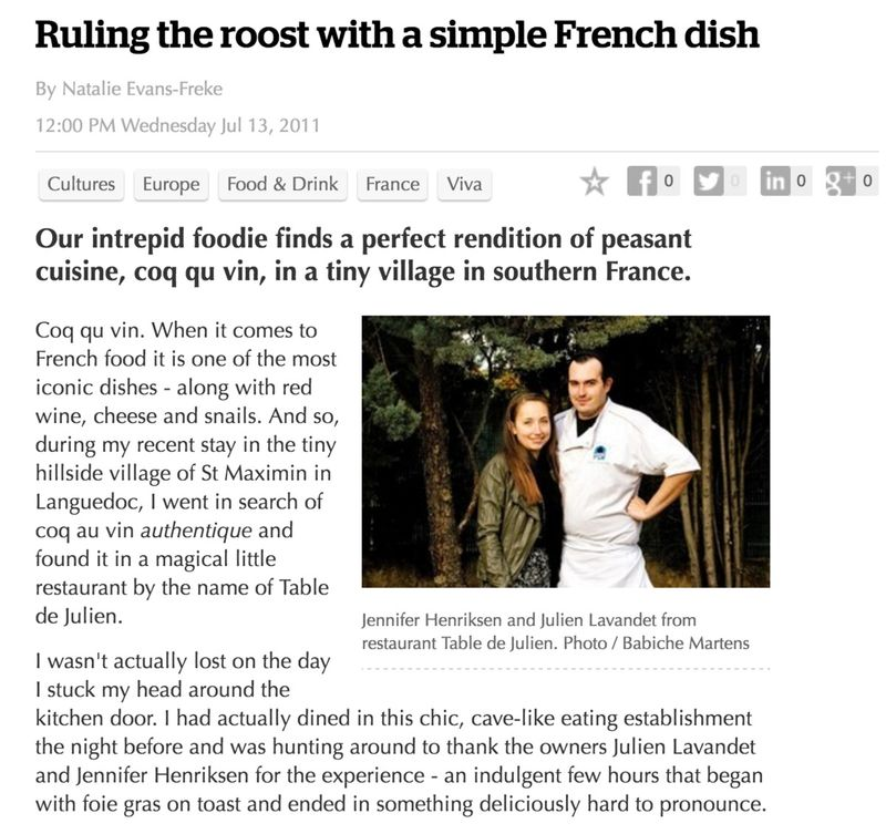 Ruling The Roost With A Simple French DIsh
