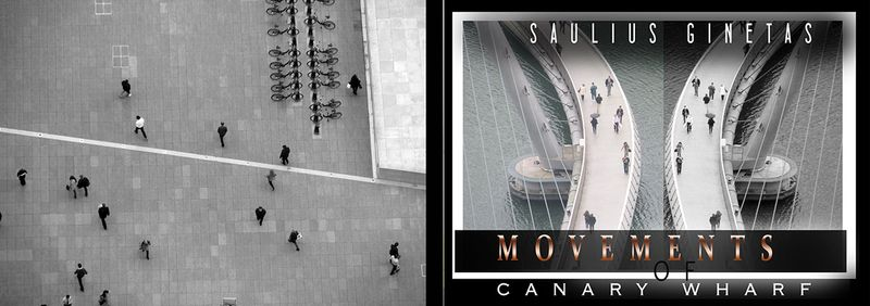 The Book ''Movements of Canary Wharf'' By SG