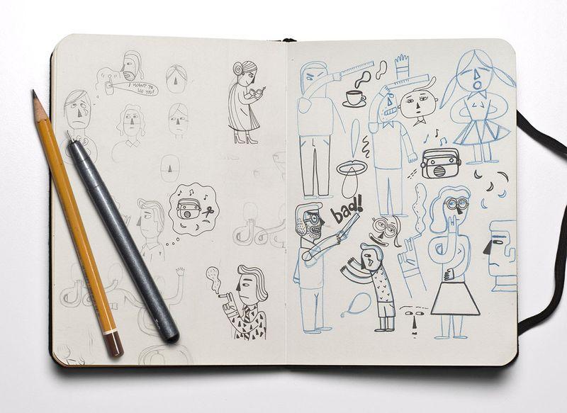 Editorial Illustration Series