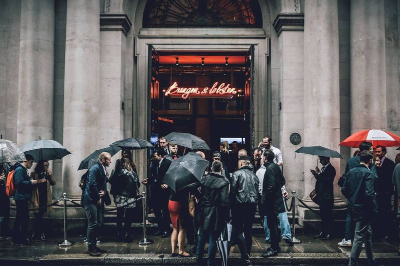Burger & Lobster #SecondSelf - Threadneedle Street Opening Party