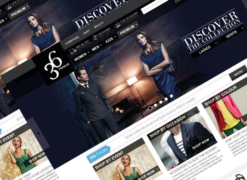 Style36 Fashion eCommerce Store Branding, UI, UX