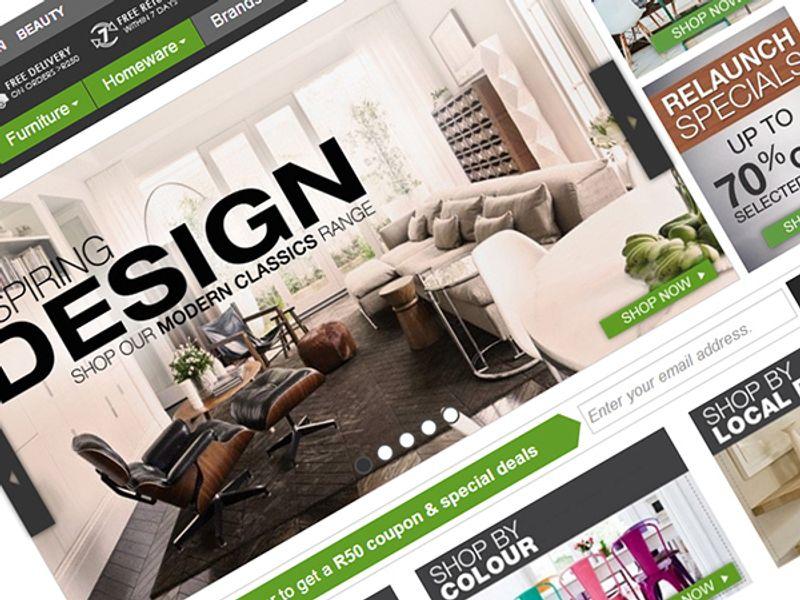 eCommerce furniture store