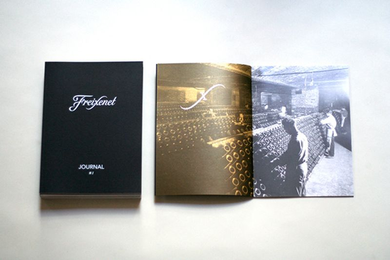 Sample of some Freixenet Collateral