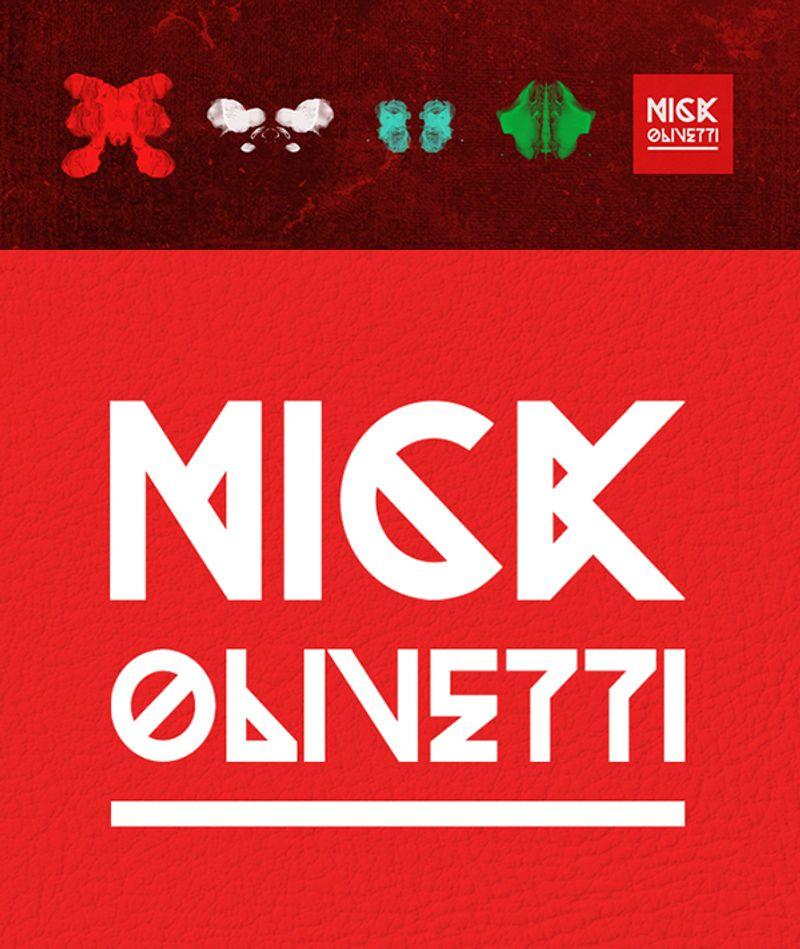 Nick Olivetti branding