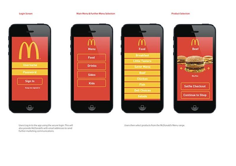 McDonald's Selfie Checkout