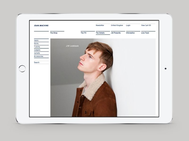 JEAN MACHINE — Digital, Print