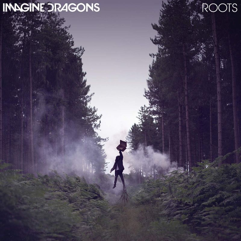 """Imagine Dragons Single cover for """"ROOTS"""""""