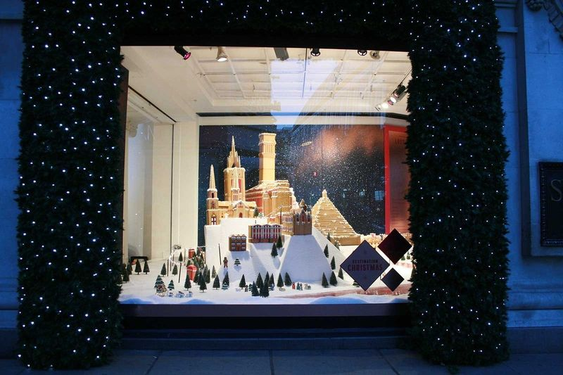 Ginger Bread Lost London. Selfridge Christmas Windows