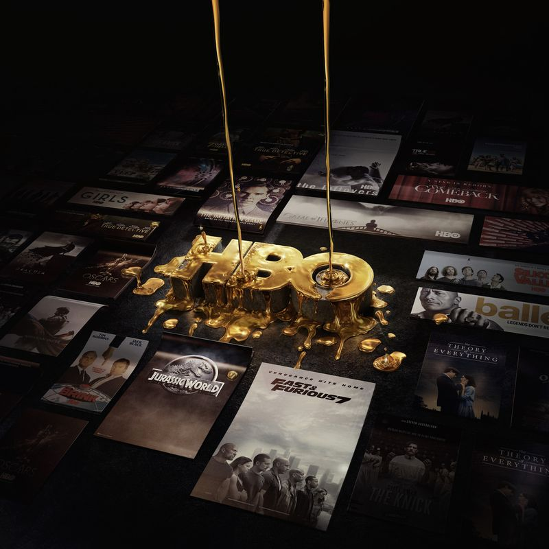HBO – Soaking in Gold