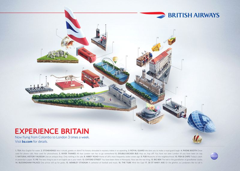 British Airways — Experience Britain