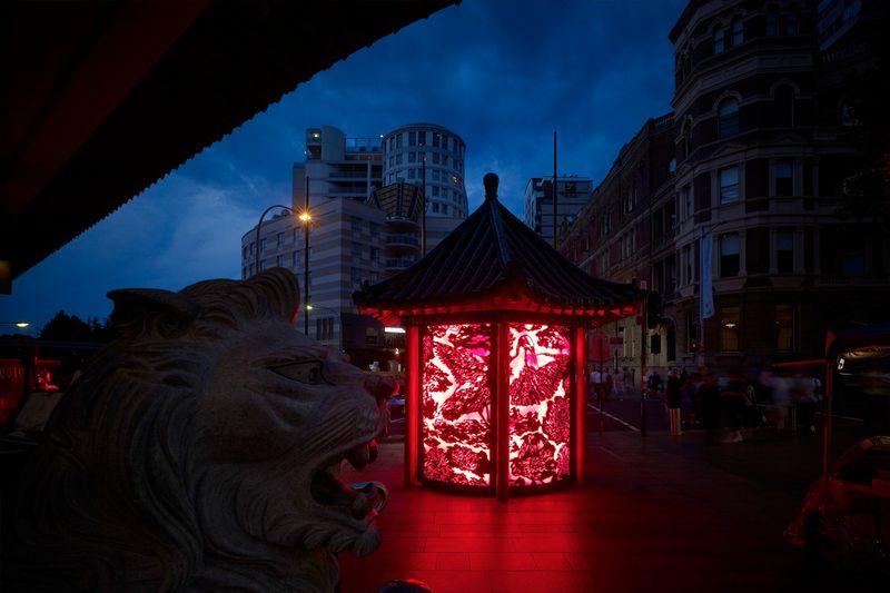 Sydney's Glowing Beacon, Chinatown Information Kiosk