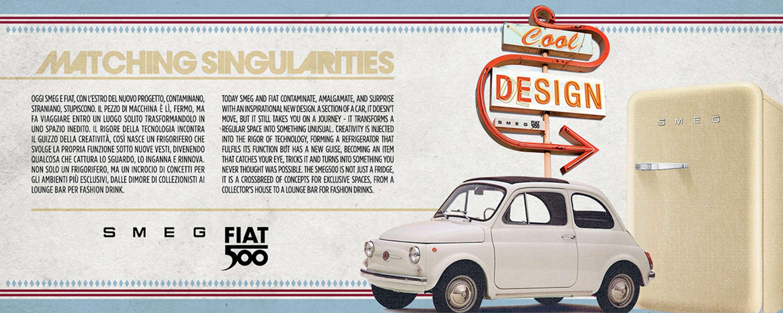 Smeg Fiat 500 Design Collection The Dots