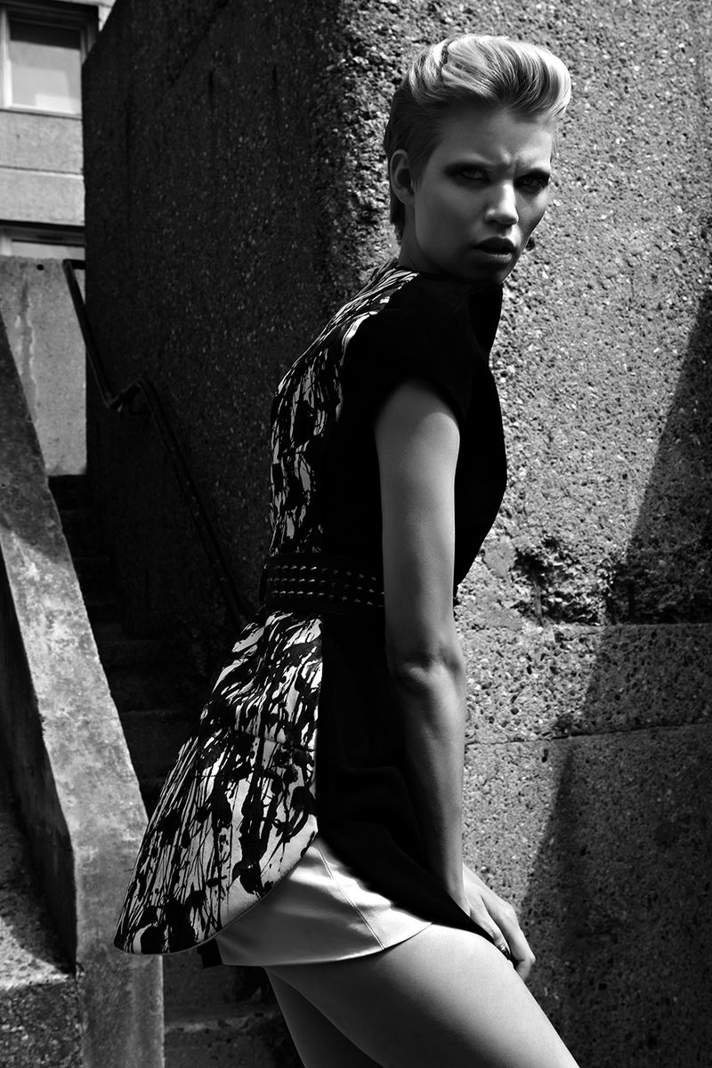 Fashion Editorial FAULT magazine