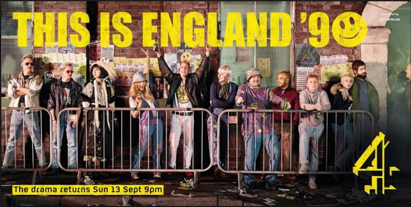 4CREATIVE: THIS IS ENGLAND 90 POSTER