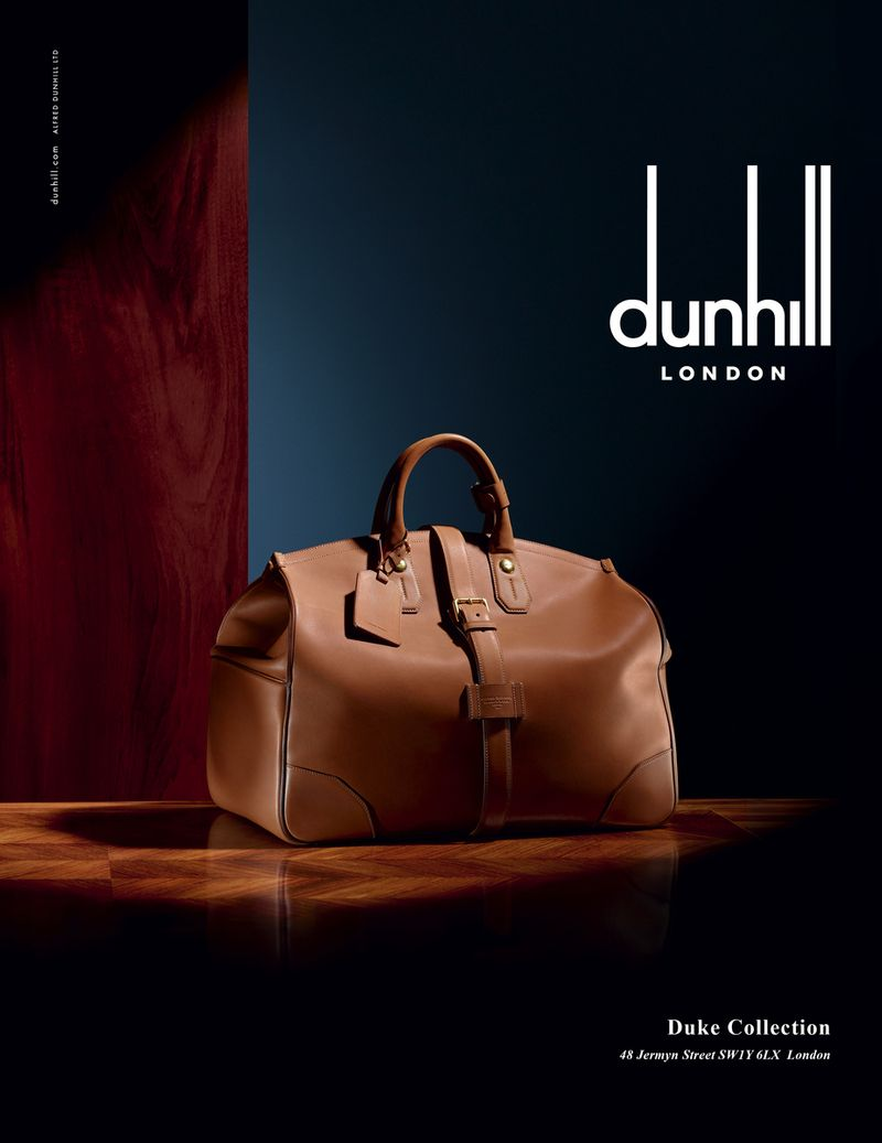 Alfred Dunhill Autumn Winter 2015 Product campaign