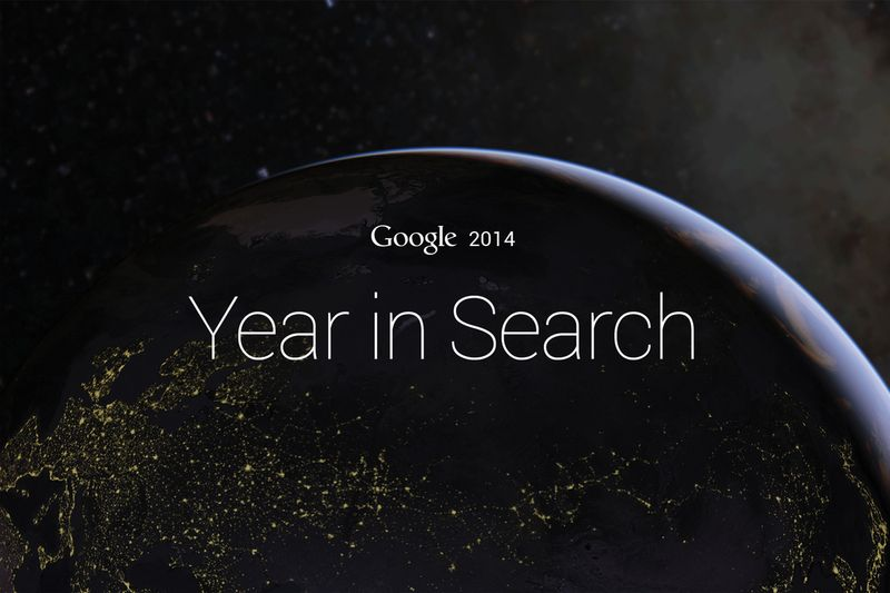 Google Year in Search