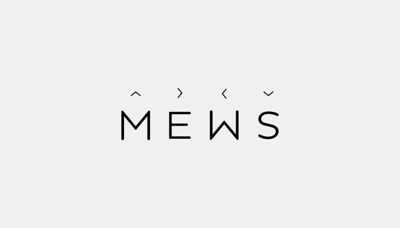 MEWS branding