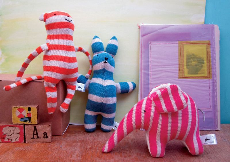 Knitted luxury toy design