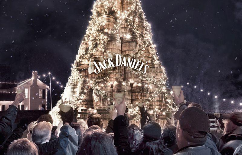 Jack Daniel's Xmas: An untraditional traditional Christmas.