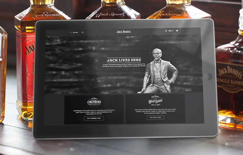 Jack Daniel's eCommerce: Lynchburg's most popular store
