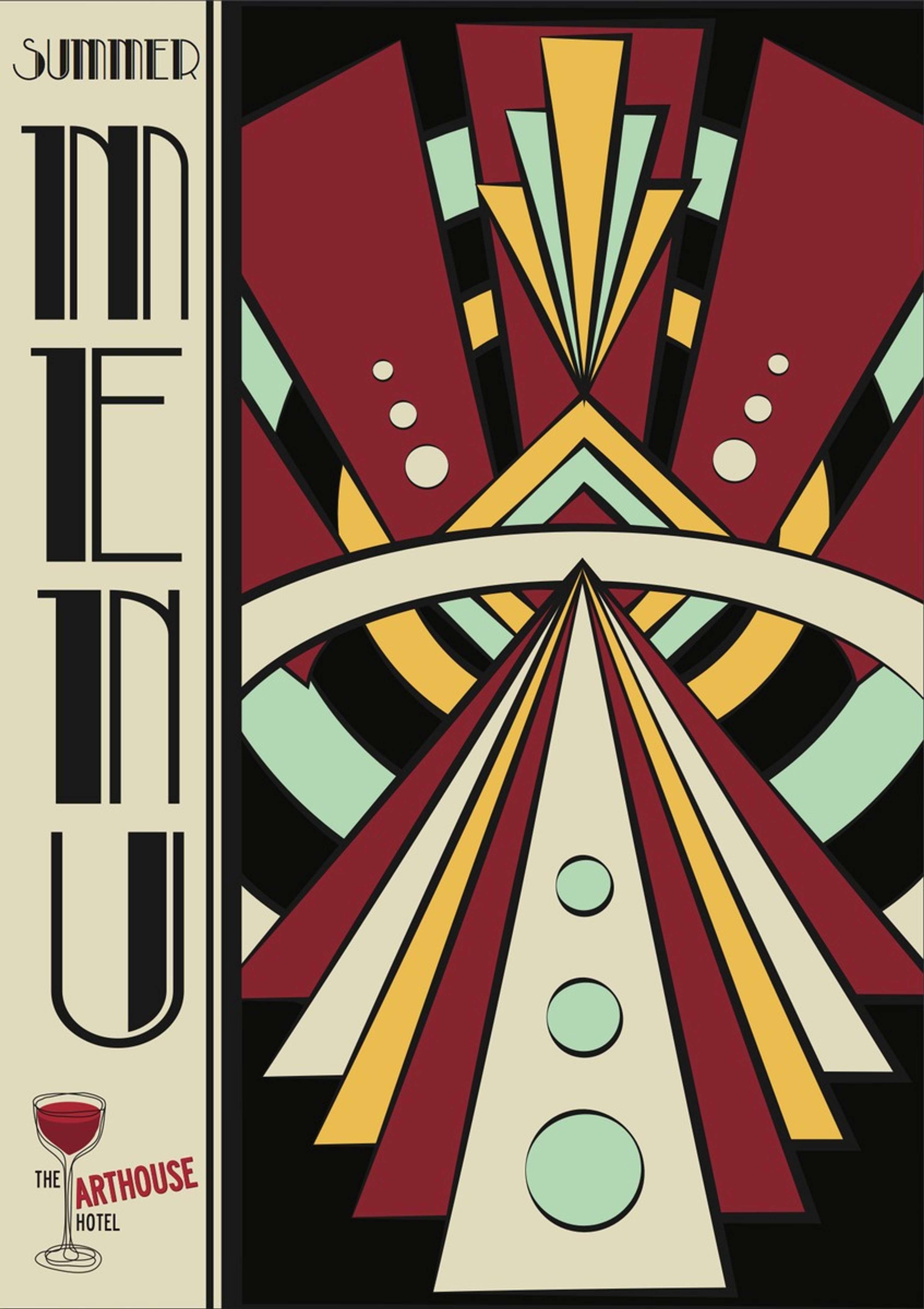 Art Deco Bar Items | The Dots